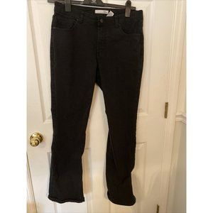 Chico's Platinum Black Jeans size 1.5 with Beaded
